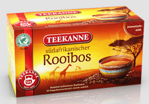 Teekanne Südafrikanischer Rooibos (20 Beutel)