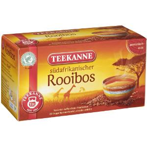 Teekanne Südafrikanischer Rooibos 20 Beutel x 1,75g