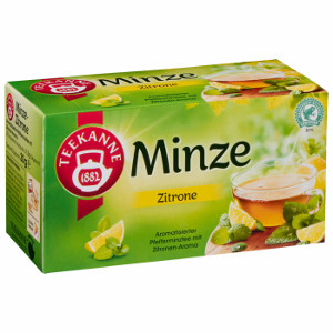 Teekanne Minze Zitrone 30g für 20er x 1,5g