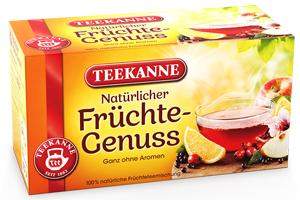 Teekanne Natürlicher Früchte-Genuss 60g