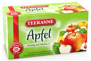 Teekanne Apfel Fruchtig & mit Vitamin C 60g für 20er x 3g
