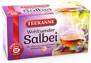 Teekanne Wohltuender Salbei 30g für 20er x 1,5g