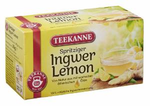 Teekanne Spritziger Ingwer-Lemon 20er x 1,75g