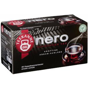 Teekanne Nero Schwarzer Tee kräftige Assam Auslese 30g für 20er