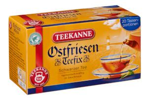 Teekanne Ostfriesen Teefix 30g für 20 Beutel x 1,5g