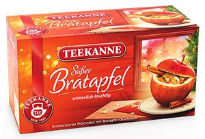Teekanne Süsser Bratapfel 50g für 20er x 2,5g