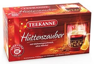 2- Teekanne Hütten-Zauber 50g für 20er x 2,5g