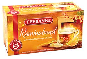 2- Teekanne Kaminabend mit Marzipangeschmack 40g für 20er x 2g