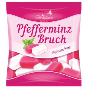 Elbsinfonie Pfefferminz-Bruch (Fondant mit Pfefferminzgeschmack) 250g