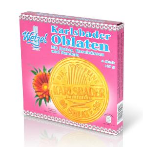 Wetzel Karlsbader Oblaten mit Butter, Nüssen und Mandeln 75g