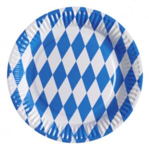 Pappteller Bavaria 8 Stk. (23cm)