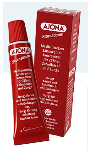 Ajona Medizinische Zahncreme 25ml