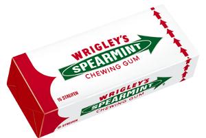 Wrigley's Spearmint Kaugummi 15 Streifen
