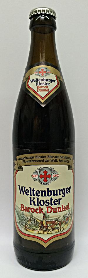 Weltenburger Barock Dunkel 4,7% - 50cl