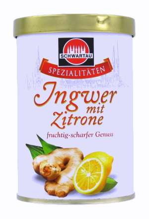 Schwartau Spezialitäten Ingwer mit Zitrone 350g