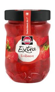 Schwartau Extra Erdbeere Konfiture 340g