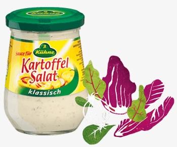 Kühne Fertige Sauce für Kartoffelsalat Klassisch 250ml
