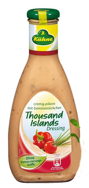 Kühne Salat Dressing 1000 Islands 500ml