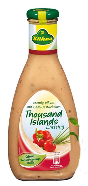 Kühne Salat Dressing 1000 Islands 500ml