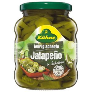 Kühne feurig scharfe Jalapeño in Scheiben 330g/165g