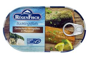 2- Rügen Fisch Bücklingsfilet in Öl 200g