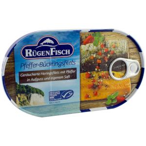 2- RügenFisch Pfeffer-Bücklingsfilet 200g