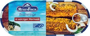 Rügen Fisch Brathering in Würziger Marinade 500g