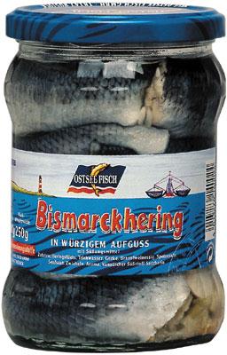 Ostsee Fisch Bismarckhering - 500g