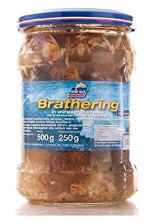 Ostsee Fisch Brathering 500g
