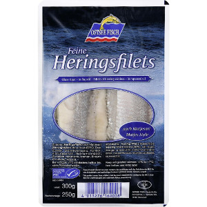 Ostsee Fisch Feine Heringsfilets 300g