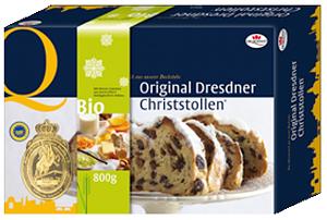 Dr. Quendt BIO Dresdner Christstollen 800g