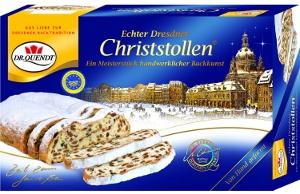 Dr. Quendt Echter Dresdner Christstollen 1kg