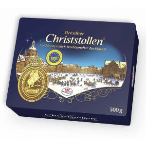 Dr. Quendt Dresdner Christstollen, Metaldose 500g