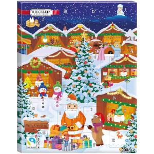 Riegelein Adventskalender Winterwunderland 75g