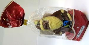 Riegelein  Weihnachtsmann Fairtrade 100g