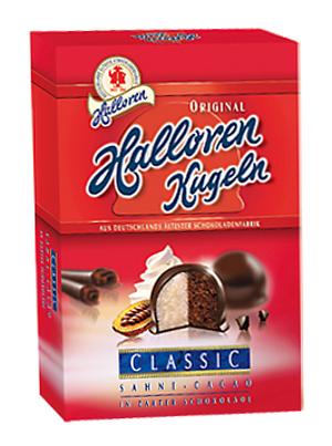 Halloren Kugeln Classic Sahne-Cacao 125g