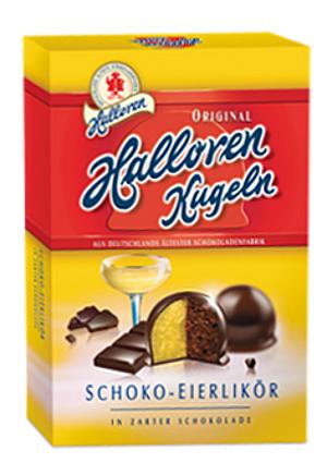 Halloren Schoko-Eierlikör Kugeln 125g