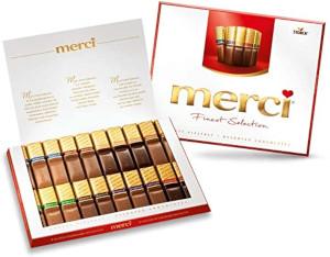Merci Grosse Vielfalt (8 Schokoladen Spezialitäten) 250g