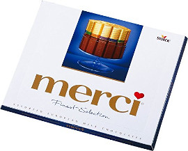 Merci Finest Selection 4 Erlesene Milchschokolade 250g
