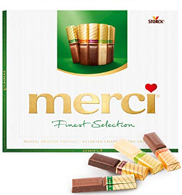 Merci Finest Selection 4 Mandel-Schokoladen 250g