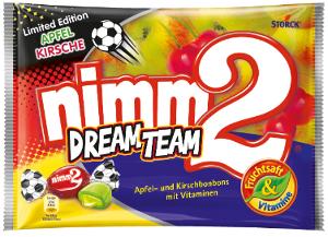 Nimm2 Dream Team Apfel u Kirschbonbons (300g)