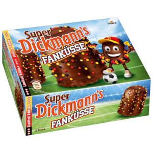 Storck Super Dickmanns Fanküsse Limited Edition 168g