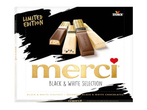 Storck Merci Finest Black & White Vielfalt 240g