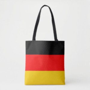 Deutschlandflagge Tragetasche