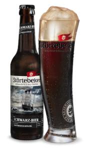 Störtebeker Schwarz-Bier Alk. 5,0% vol. 50cl