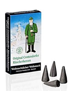Crottendorfer Räucherkerzen Weihnachtlicher Weihrauch 24er