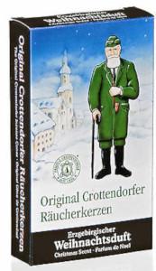 Crottendorfer Räucherkerzchen Weihnachtsduft 24er
