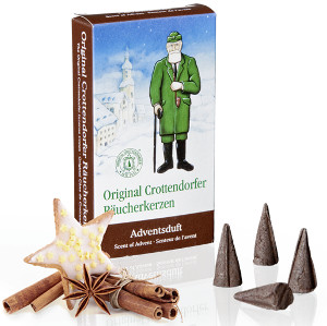 Crottendorfer Räucherkerzen Adventsduft 24er