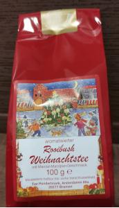2- Tee Hundertmark Rooibush Weihnachtstee 100g