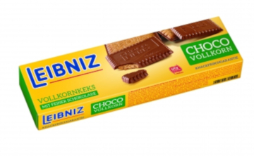 Leibniz Choco Vollkorn mit Vollmilchschokolade 125g
